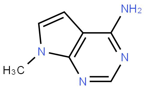 17011908 - 7-Methyl-7H-pyrrolo[2,3-d]pyriMidin-4-aMine | CAS 7752-54-7